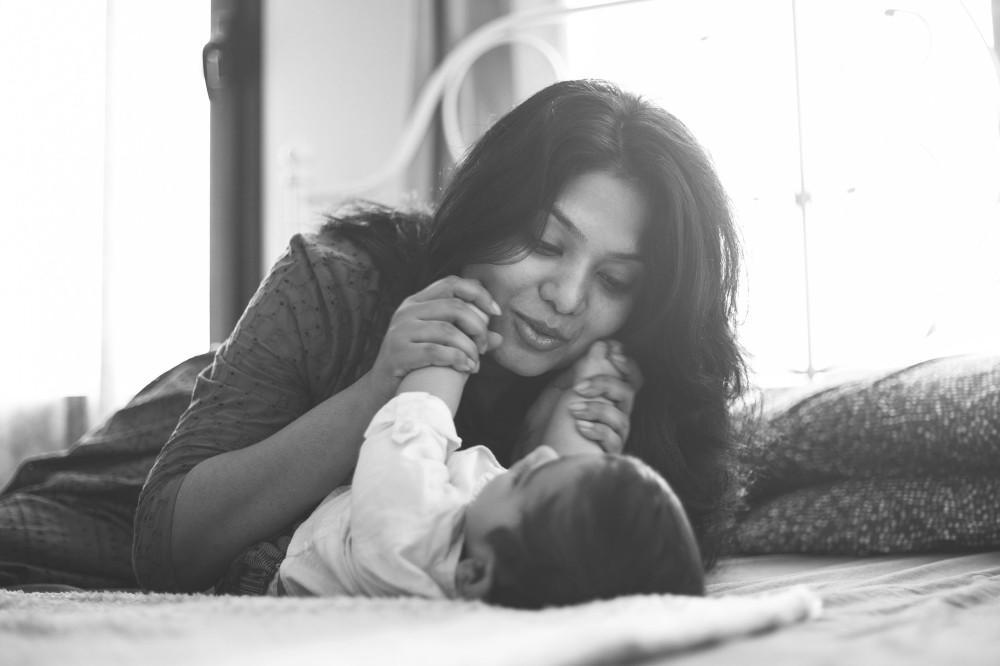 Family baby photoshoot Dubai